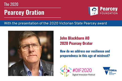 Pearcey Oration 2020