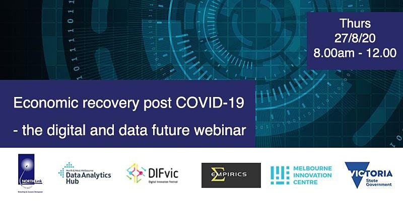 Economic Recovery post COVID-19 - the Digital and Data future