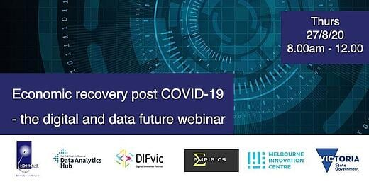 Economic Recovery post COVID-19 - the Digital and Data future